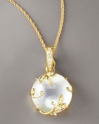 Frederic Sage | White Mop Pendant Necklace | Lyst