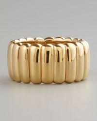 John Hardy | Metallic Wide Bedeg Band Ring Gold | Lyst