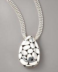 John Hardy - Metallic Kali Pendant Necklace, Large - Lyst