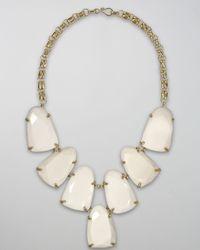 Kendra Scott - Harlow Necklace, White - Lyst