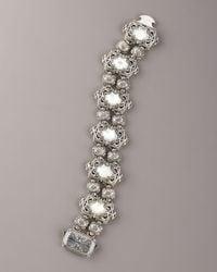 Konstantino - White Mother-of-pearl Bracelet - Lyst