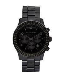 Michael Kors | Blackout Glitz Watch | Lyst