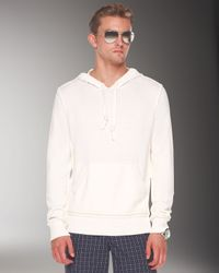 Michael Kors | White Pullover Hoodie for Men | Lyst