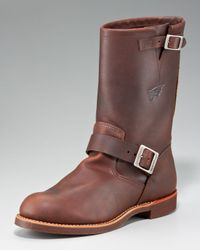 Red Wing - Brown Heritage Engineer Boot for Men - Lyst