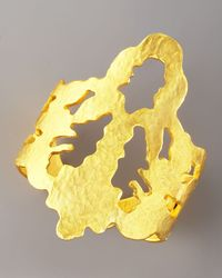 Sachin & Babi - Metallic Rorschach Emblem Cuff - Lyst