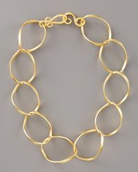 Stephanie Anne - Metallic Chancellor Chain Necklace, 18l - Lyst