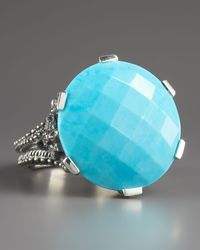 Stephen Dweck - Blue Round Turquoise Ring 18mm - Lyst