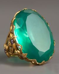 Stephen Dweck | Green Large Agate & Delphinium Ring | Lyst