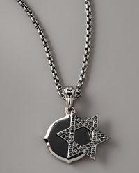 Stephen Webster - Metallic Star Of David Double Pendant Necklace - Lyst