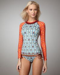 Tory Burch | Red Lucio Surf Top | Lyst