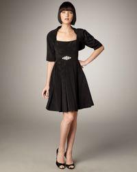 Bigio Collection | Black Bolero & Shift Dress | Lyst