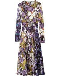 Mary Katrantzou | Multicolor Eva Printed Crepe Mini Dress | Lyst