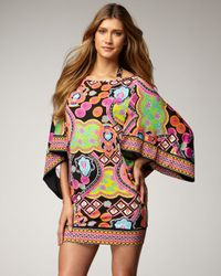 Trina Turk - Black Marrakech Express Printed Tunic - Lyst