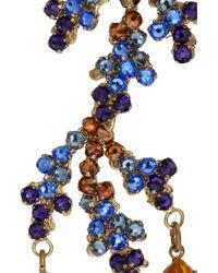 Bijoux Heart - Metallic Bali 24karat Goldplated Swarovski Crystal Earrings - Lyst