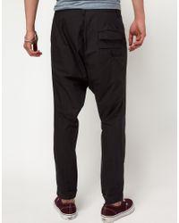 Fifth Avenue Shoe Repair - Black Fifth Avenue Shoe Repair Less Baggy Trousers for Men - Lyst