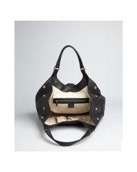 Gucci - Black Leather Greenwich Medium Shoulder Bag - Lyst