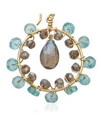 Astley Clarke - Yellow Round Earrings - Lyst