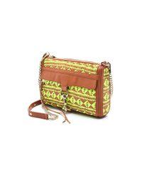 Rebecca Minkoff - Brown Woven Leather Mac Bag - Lyst
