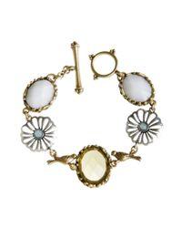 Lucky Brand - Metallic Garden Toggle Bracelet - Lyst