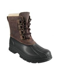 Polo Ralph Lauren | Brown Landen Shearling Lined Boots for Men | Lyst