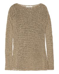 Kelly Bergin | Metallic Open-knit Sweater | Lyst