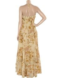 By Malene Birger - Yellow Zaar Rose Garden Maxi Dress - Lyst