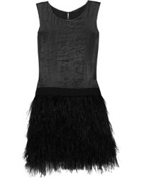 Theory | Black Minaeon Sleeveless Sheath | Lyst