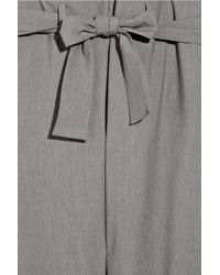 Vivienne Westwood Anglomania - Gray Kung Fu Twill Pants - Lyst