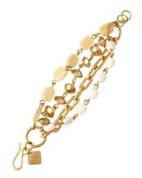 Ashley Pittman - Metallic Habari Light Horn Bracelet - Lyst