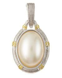 Judith Ripka | White Mabe Pearl Enhancer | Lyst