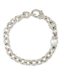 Judith Ripka | Metallic Serafina Pearl Bracelet | Lyst