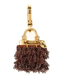 Juicy Couture | Brown Chain Purse Charm | Lyst