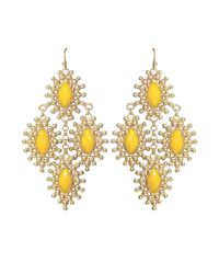 Kendra Scott - Metallic Febe Chandelier Earrings - Lyst