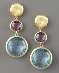 Marco Bicego | Blue Jaipur Drop Earrings, Topaz | Lyst