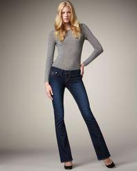 True Religion | Blue Becky Lonestar Crystal-pocket Jeans | Lyst