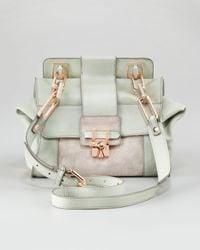 Kooba - Gray Noelle Flap Shoulder Bag - Lyst