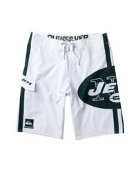 Quiksilver - White New York Jets Board Shorts for Men - Lyst