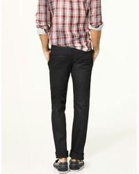 Zara | Black Slim Stretch Trousers for Men | Lyst