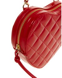 ASOS - Red Asos Quilted Heart Across Body Bag - Lyst