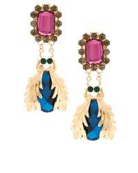 Darling - Metallic Premium Darling Bug Drop Earrings - Lyst