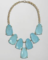 Kendra Scott | Blue Harlow Necklace Turquoise | Lyst