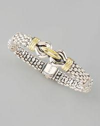 Lagos - Metallic Derby Bracelet 9mm - Lyst
