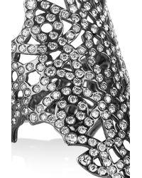 Repossi | Metallic Maure 18karat Black Goldwashed Diamond Ring | Lyst