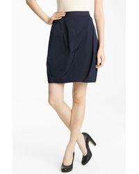 Lida Baday   Blue Pinstripe Radzimir Skirt   Lyst