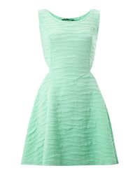 Madam Rage | Green Madam Rage Cut Out Skater Dress | Lyst