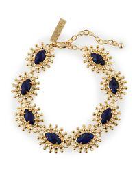 Kendra Scott | Blue Lapis Link Bracelet | Lyst