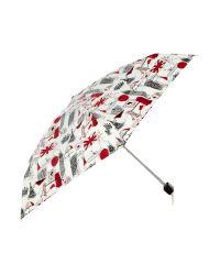 Lulu Guinness | Multicolor London Print Tiny Umbrella | Lyst