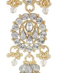 Isharya - Metallic Maharani Bling 18karat Goldplated Drop Earrings - Lyst