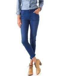 Joe's Jeans | Blue Rolled High Water Jeans | Lyst