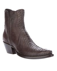 Stallion Boots & Leather Goods | Brown 3 Piece Zorro Boot | Lyst